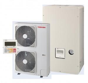 Toshiba Ilves õhk-vesi soojusmpump